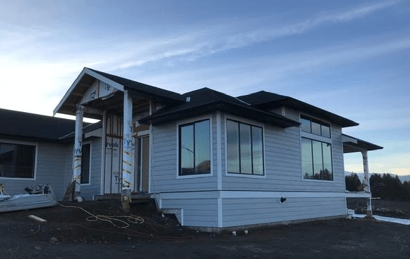 New Custom Home with Ocean and Mountain Views for Sale in Courtenay