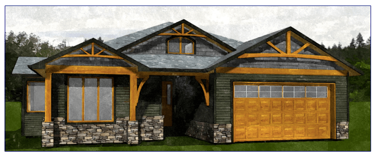 New Custom Rancher Home For Sale Courtenay, B.C.