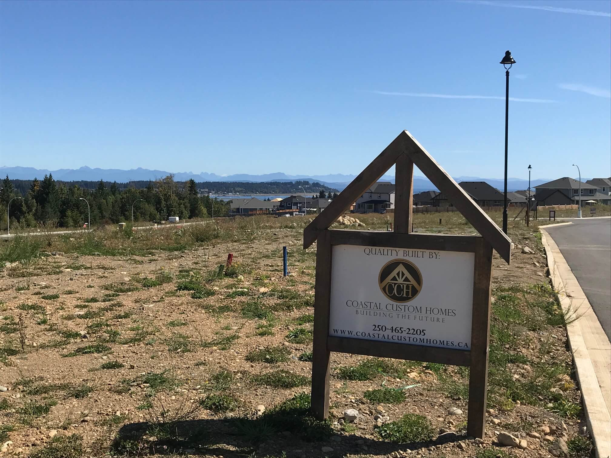 New Home for Sale with Secondary Suite on Vancouver Island
